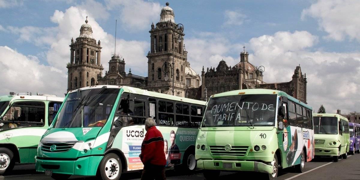 #TuVozEnPublimetro: Encuesta sobre marchas de transportistas que piden aumentar sus tarifas