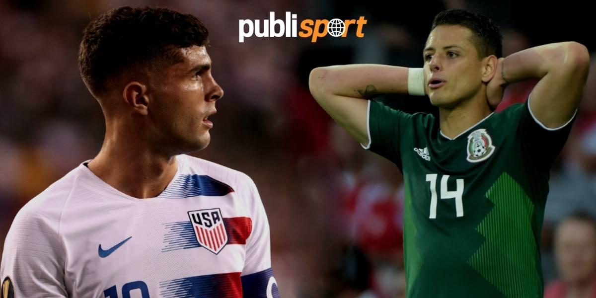 Estados Unidos vs. México, ¿dónde y a qué hora ver el partido?