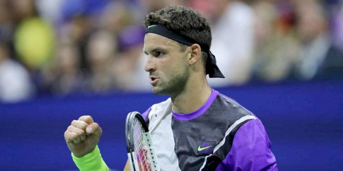 Sorpresa total en el US Open: Grigor Dimitrov dejó eliminado en cuartos de final a Roger Federer