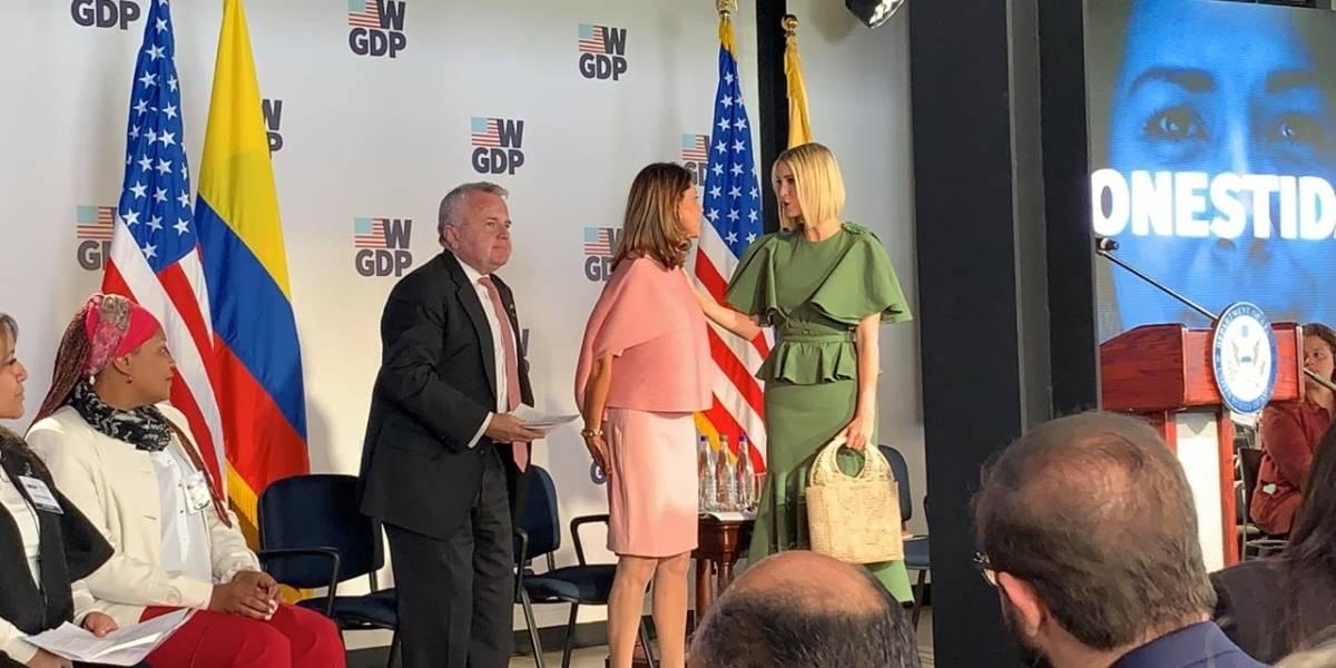 El vestido Ivanka Trump que fue diseñado por una colombiana