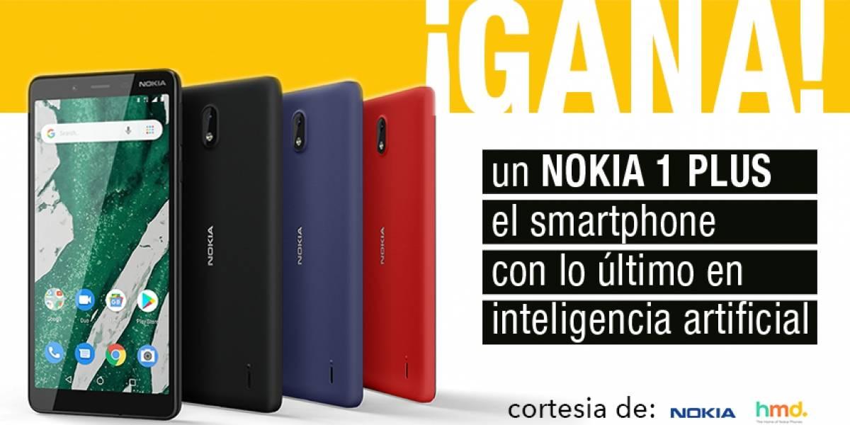 ¡Gana!Nokia 1 PLUS