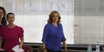 audiencia para receptar el testimonio anticipado de la procesada Pamela M