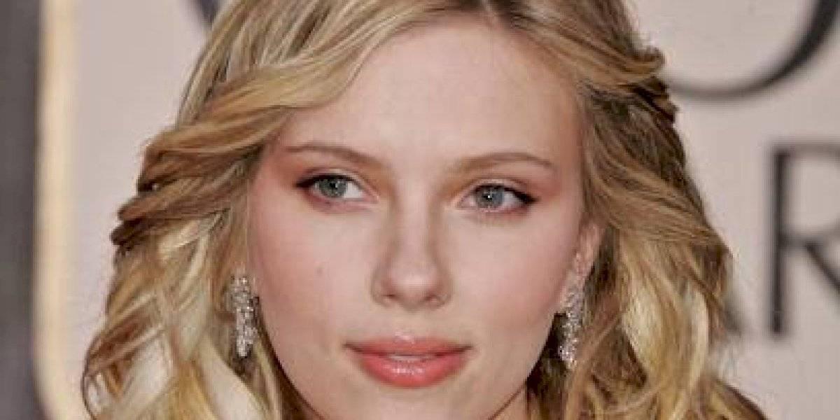 Así lucía Scarlett Johansson antes de ser famosa