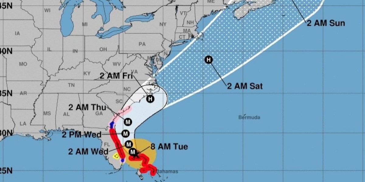 Dorian fustiga a Bahamas por segundo día y se mueve a una milla por hora