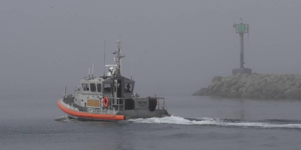 Suspenden búsqueda de sobrevivientes tras hundimiento de barco en California