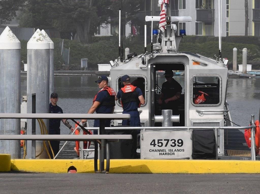 Hundimiento de barco en California