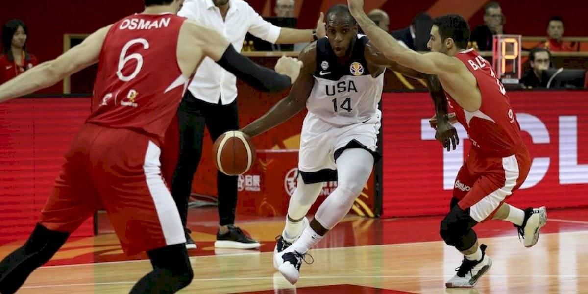 Estados Unidos sufre de más para vencer a Turquía en el Mundial de basquet