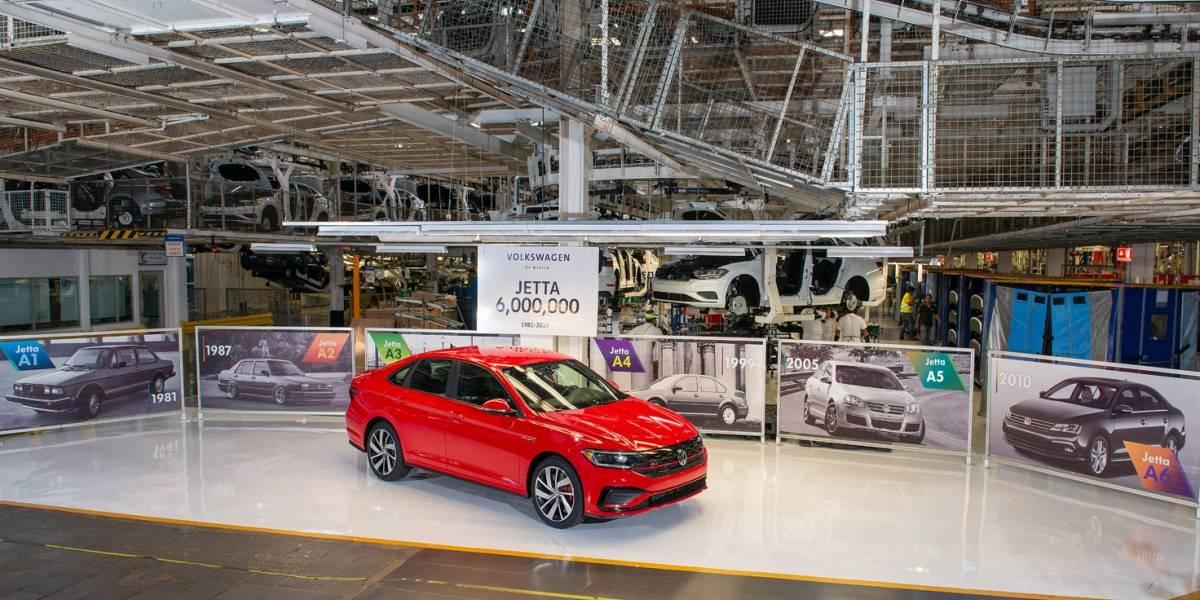 Jetta anota un récord para Volkswagen de México con 6 millones de unidades producidas