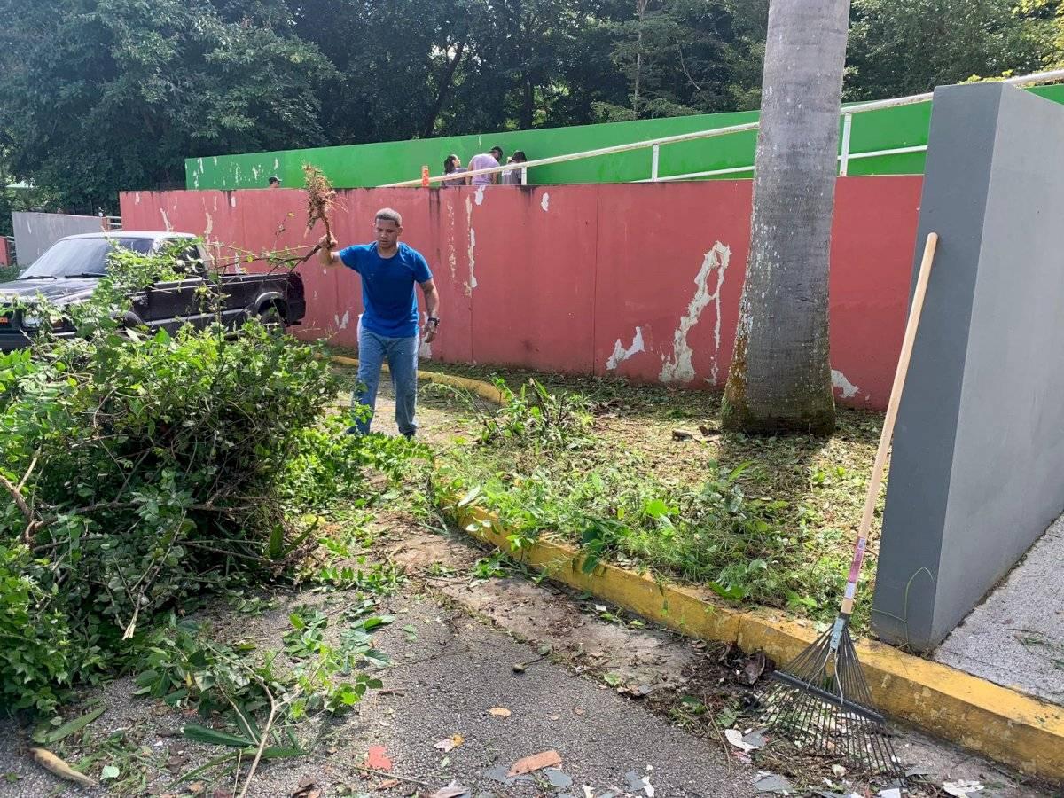 Organización Salvemos al Zoológico recibió el respaldo del DRNA para habilitar varias áreas del Zoológico de Mayagüez. Suministrada
