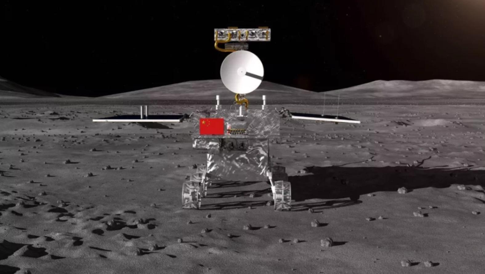 Rover Chino encuentra extraña sustancia con textura de gel en la Luna