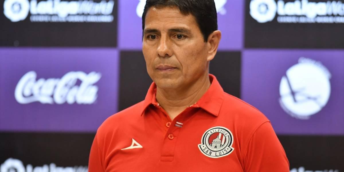 ¡Cayó el quinto! Alfonso Sosa deja de ser DT del Atlético San Luis