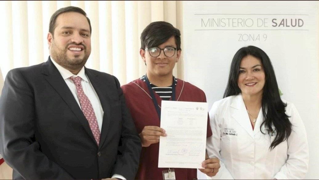 Andrés Madero, Jerson Capello y Catalina Andramuño 2