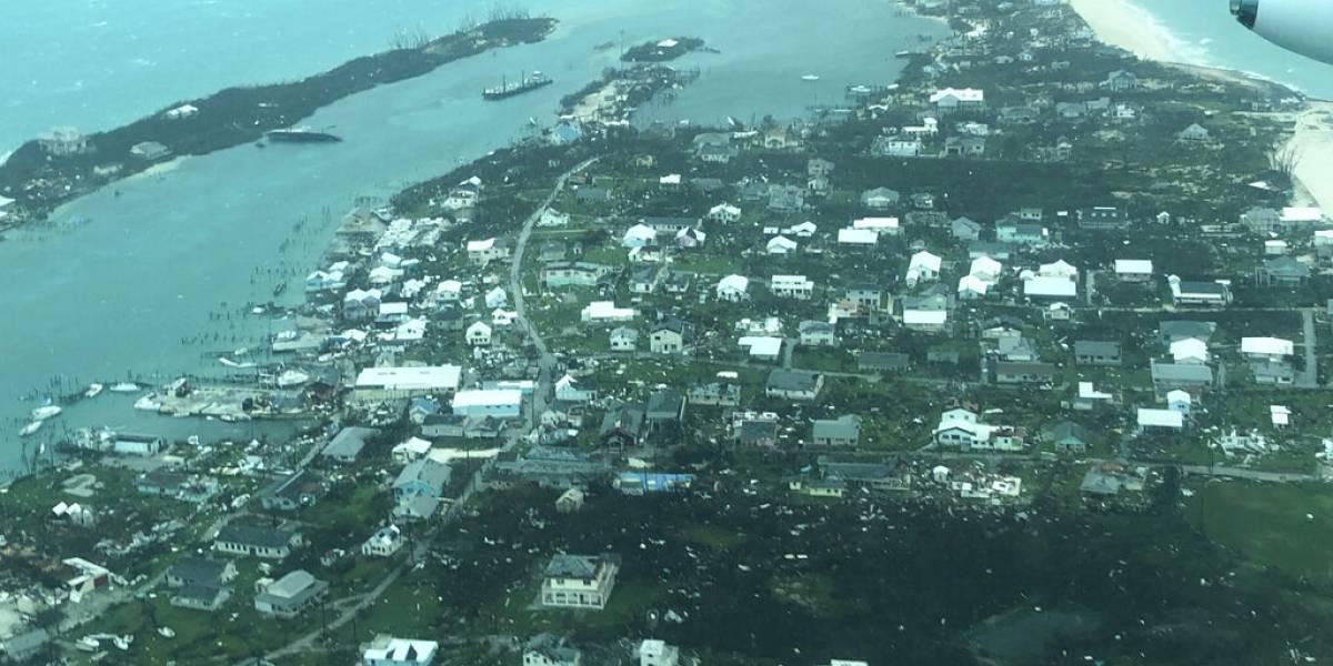 """Parece como si una bomba hubiera explotado"": huracán Dorian causa ""devastación total"" en Bahamas"