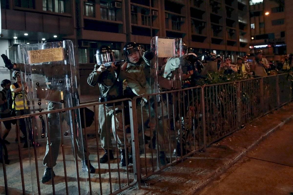 Seguridad en Hong Kong ante protestas