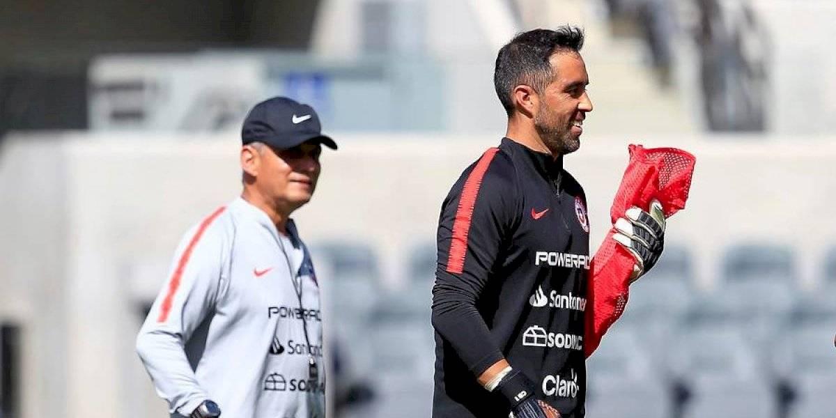 """""""Es el hombre grande del equipo"""": La satisfacción de Rueda al contar con Bravo en la Roja"""