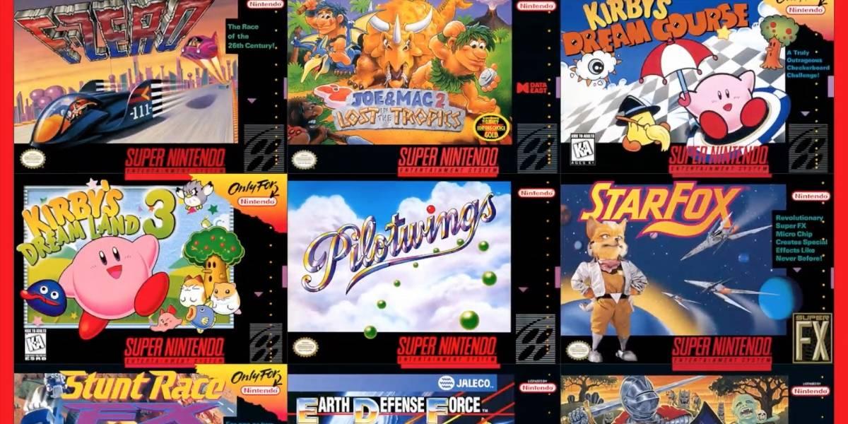 Se veía venir: Ahora podrás jugar juegos de SNES en la Nintendo Switch
