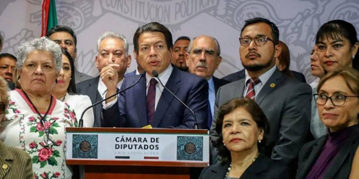 Morena cede presidencia de la Cámara de Diputados al PAN