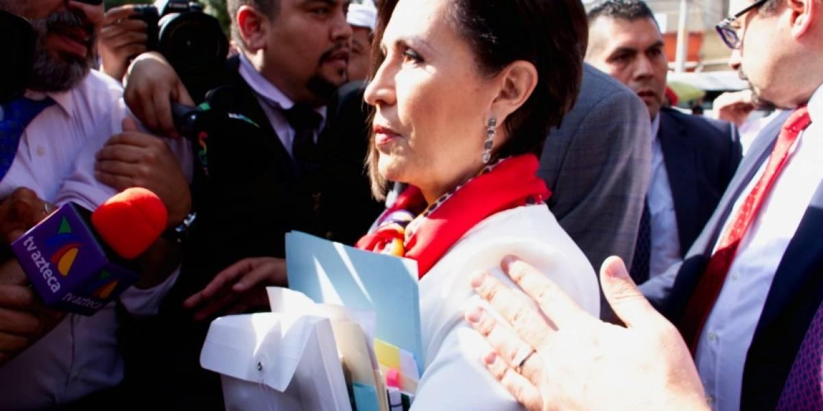 """Rosario Robles a AMLO: """"¿No tengo el mismo derecho que Florence Cassez al debido proceso?"""""""