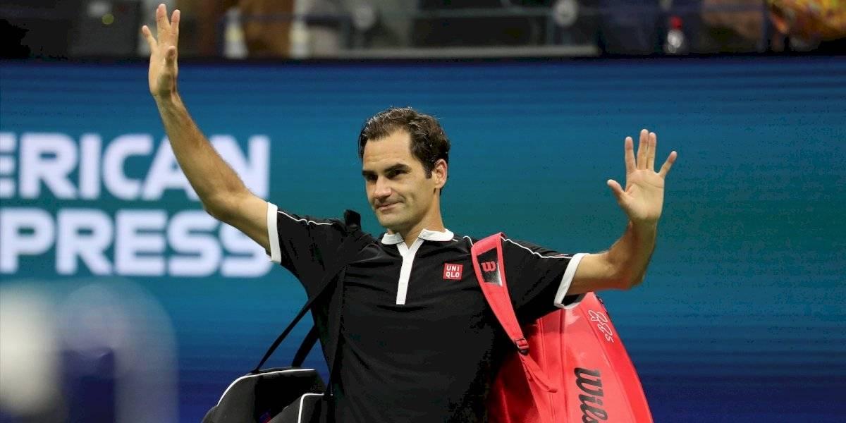 El saludo de Roger Federer a Colombia, en la presentación de su partido en Bogotá