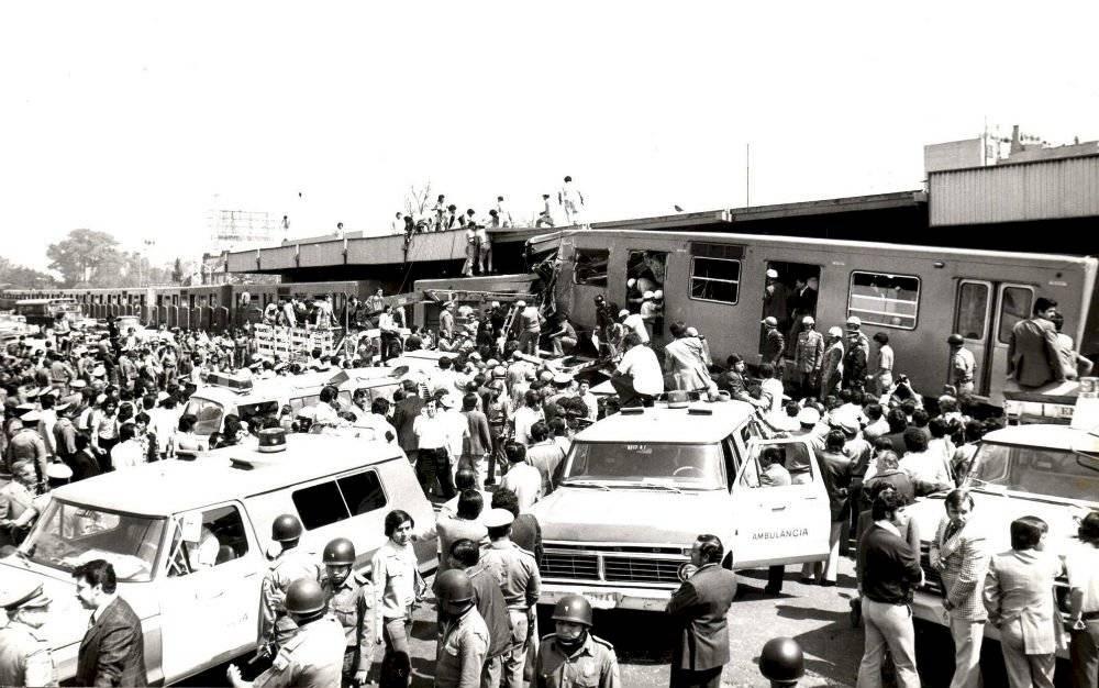 Choque del Metro en 1975