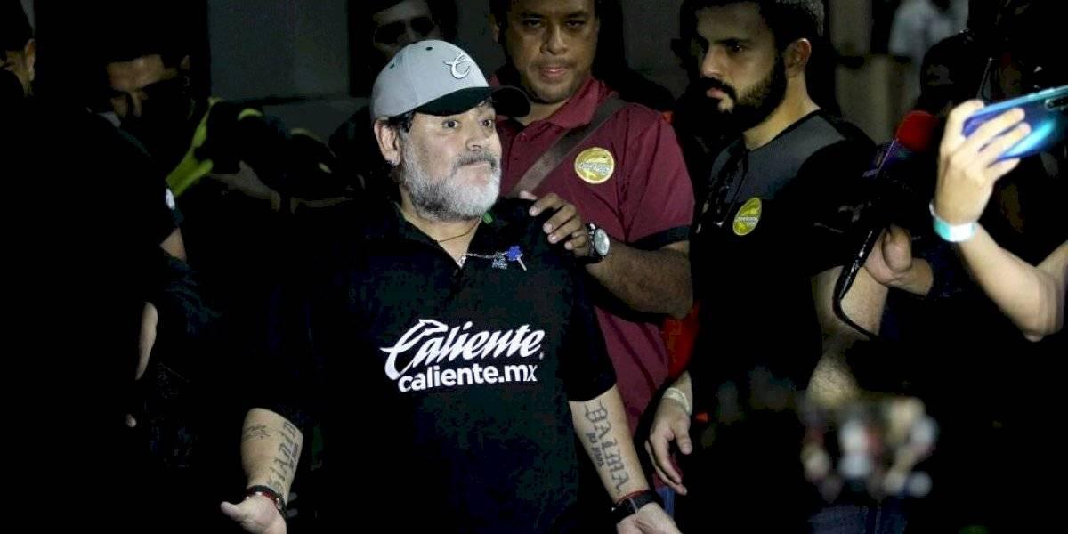 VIDEO. Diego Maradona se declara listo para dirigir en la Superliga argentina