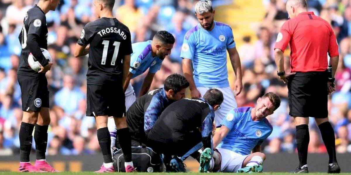 Otro golpe al City de Guardiola: Laporte fue operado de una rodilla y estará un largo tiempo sin jugar