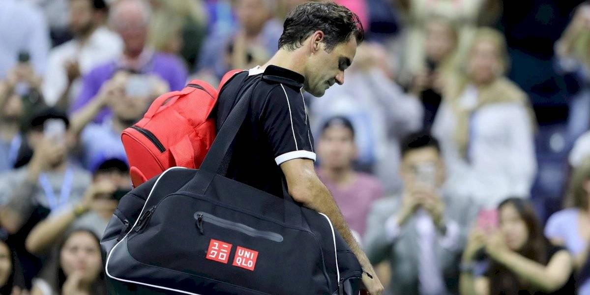 'Estoy decepcionado pero me volveré a levantar': Federer