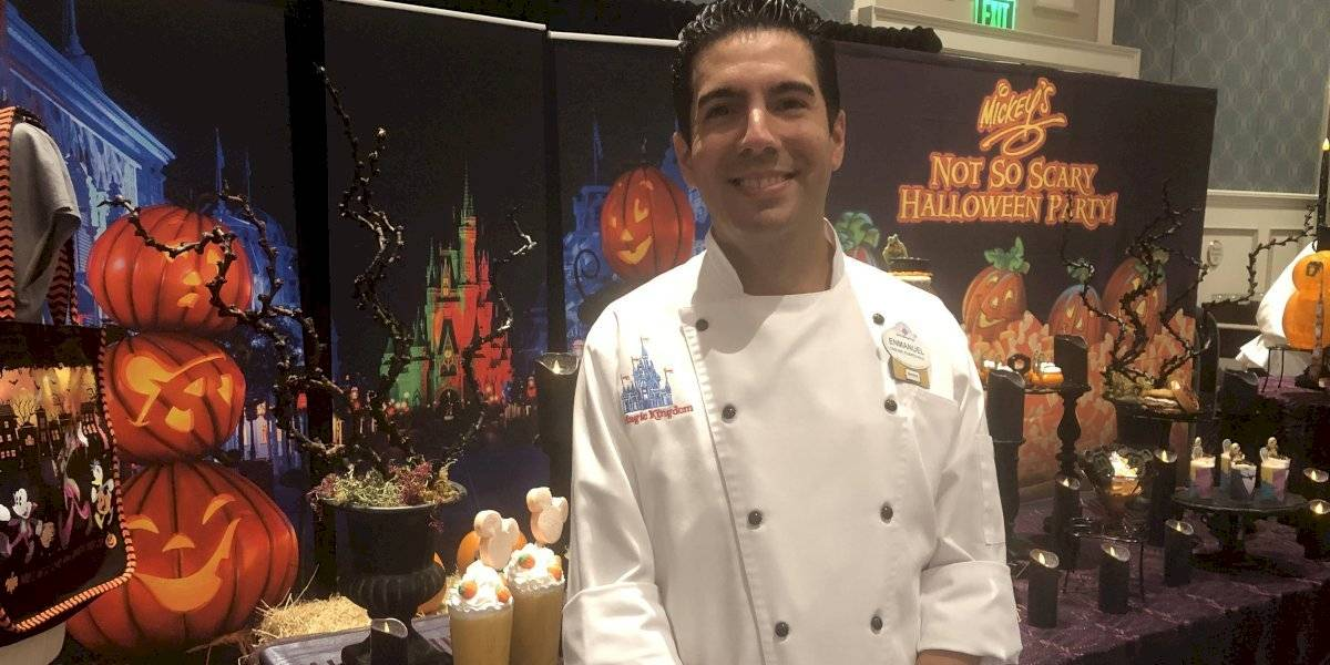 Boricua pone su dulce toque al Not So Scary Halloween Party en Disney World