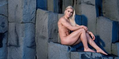 Katrin Davidsdottir en el Body Issue 2019