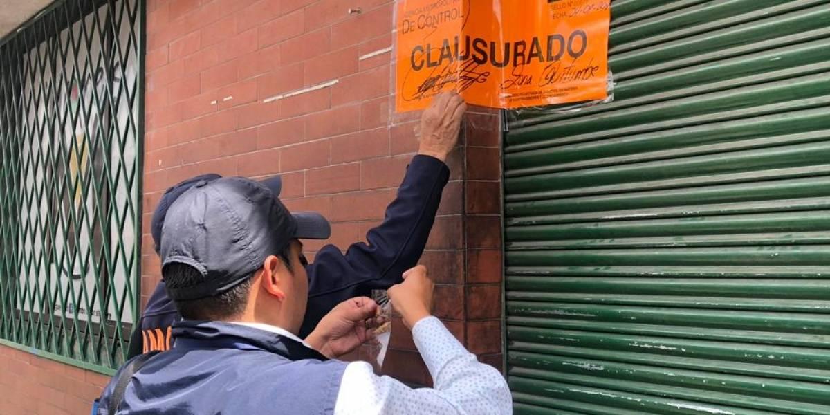 Quito: Se clausuraron siente lavadoras de autos informales