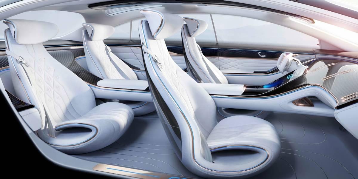 Mercedes-Benz Vision EQS se adelanta al Auto Show de Frankfurt