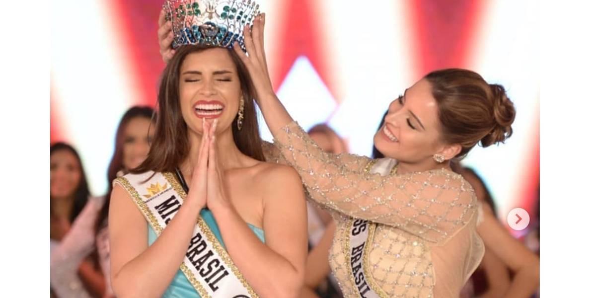 Elis Miele é eleita Miss Brasil Mundo 2019