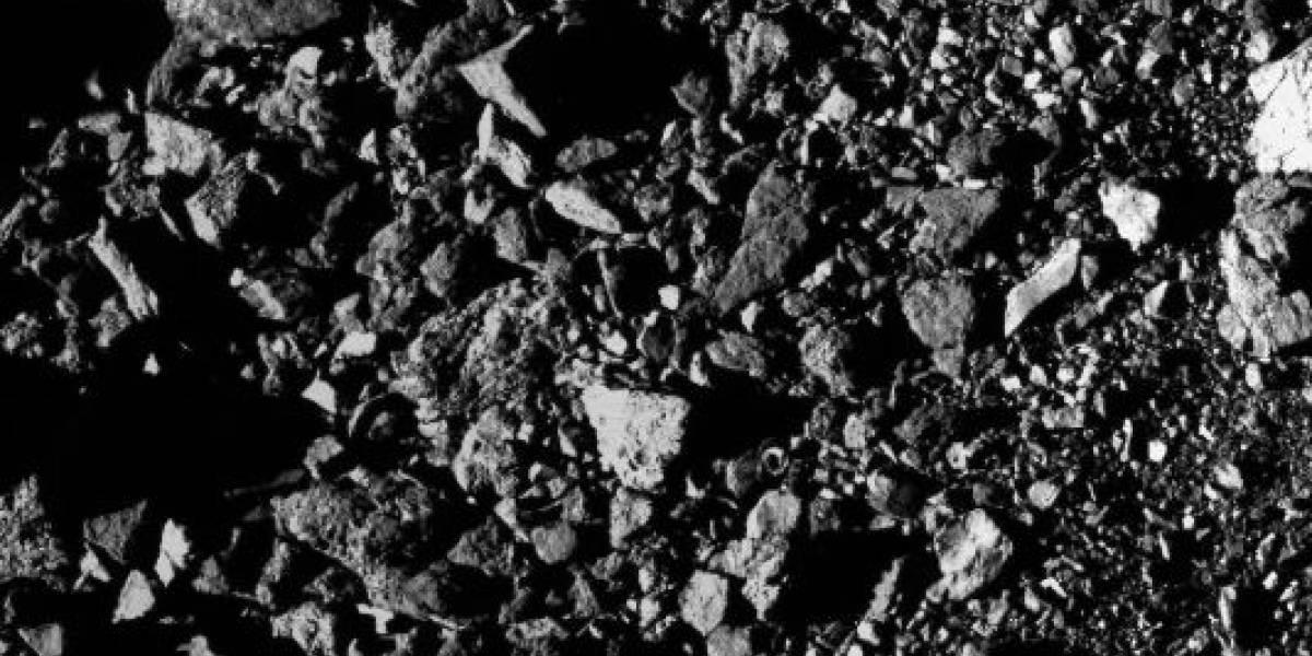 Sonda espacial capta novo registro detalhado do asteroide Bennu