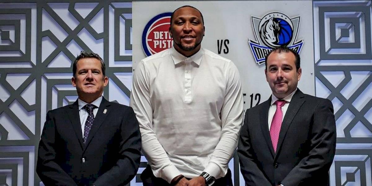 Comienza venta de boletos para los juegos de NBA en México este jueves
