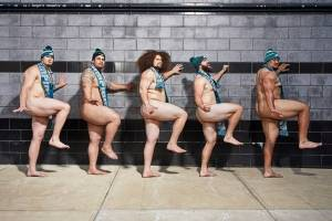 Philadelphia Eagles, línea ofensiva Body Issue 2019