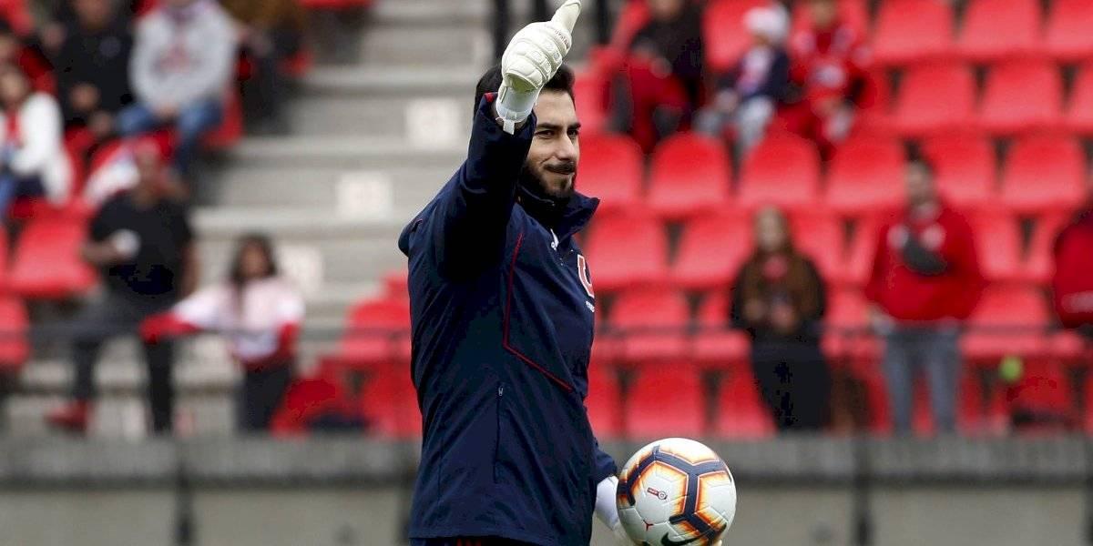 Johnny Herrera dejará atrás 125 días de calvario para volver a la titularidad de la U en Copa Chile