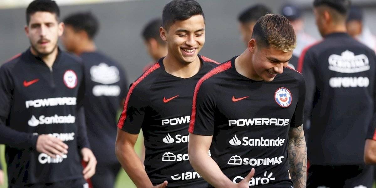 La Roja Sub 23 venció a AC Barnechea en amistoso preparativo para el partido con Brasil
