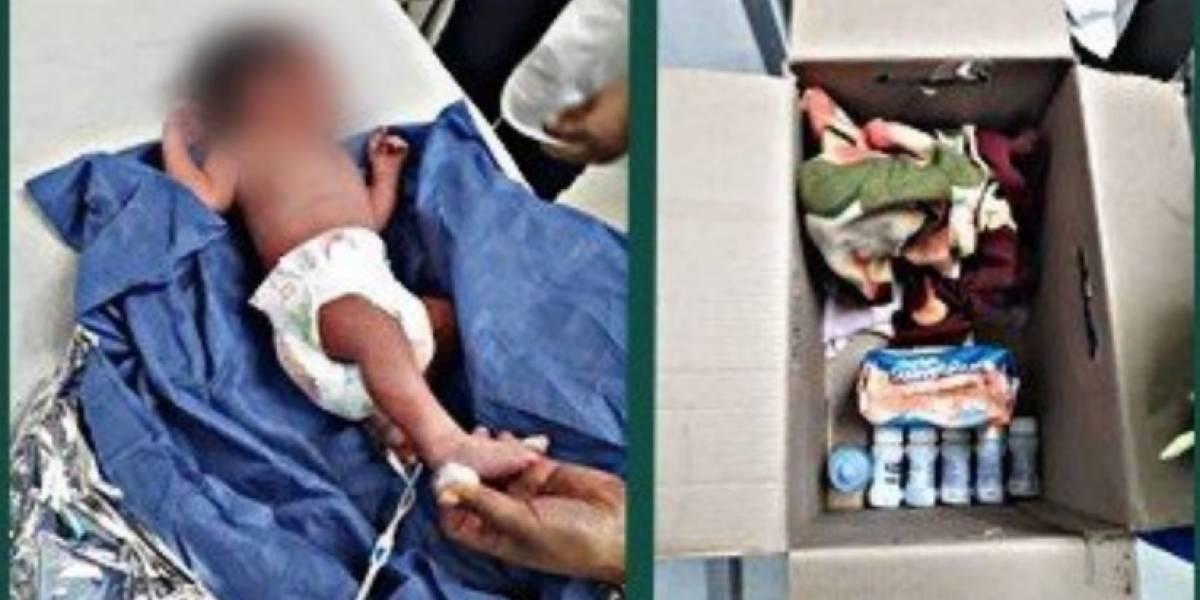 Abandonan a tres recién nacidos en CDMX