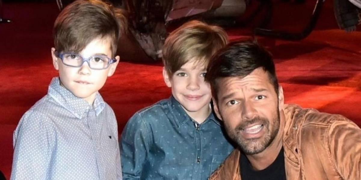 Ricky Martin es fuertemente criticado por la apariencia que luce su hijo Valentino
