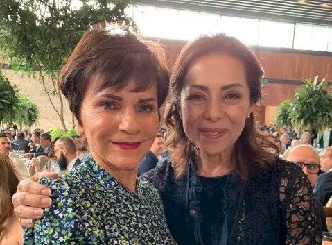Pati Chapoy y Josefina Vázquez Mota
