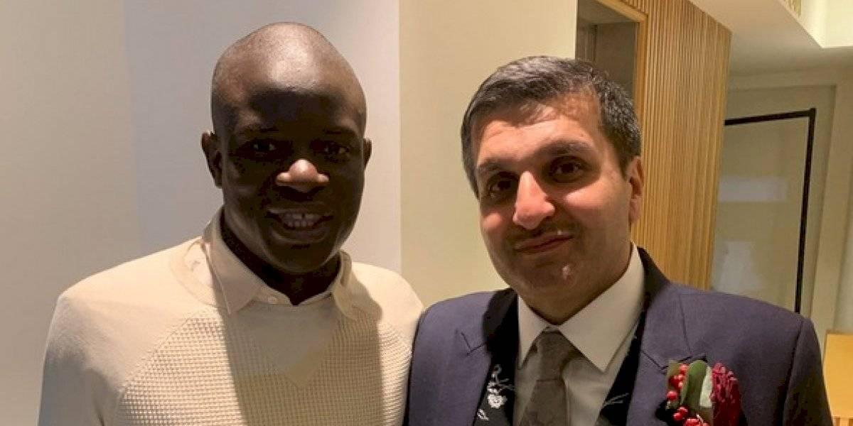N'Golo Kanté se 'cuela' a la boda de la hija de un aficionado del Chelsea