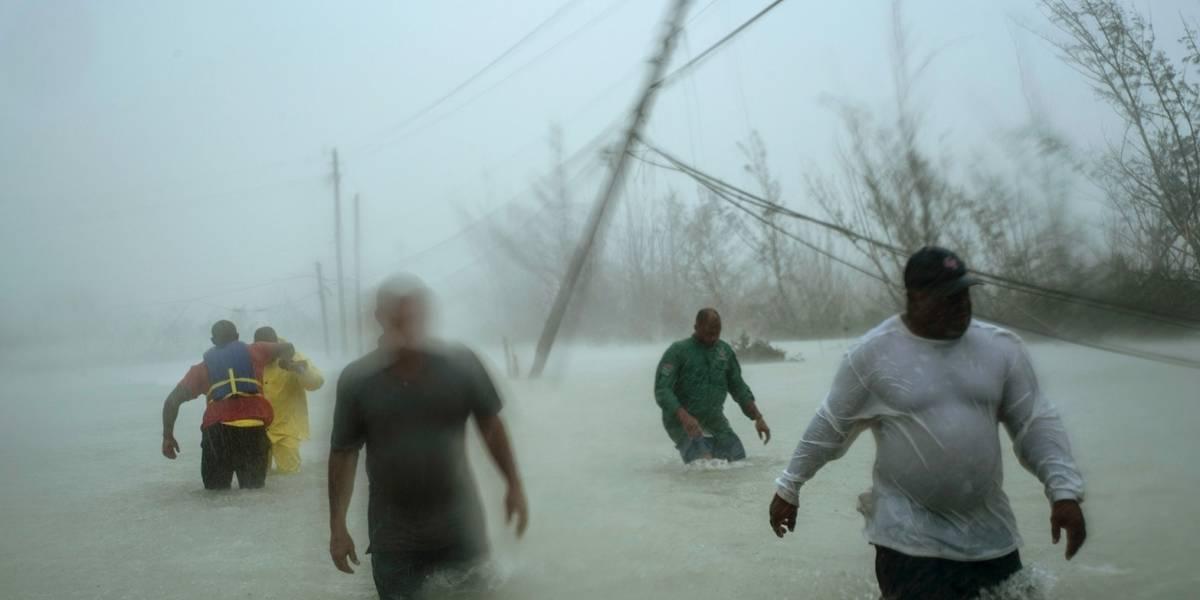 Residentes de Bahamas evalúan daños causados por Dorian