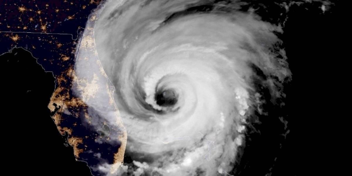 Dorian afecta la costa nordeste de Florida