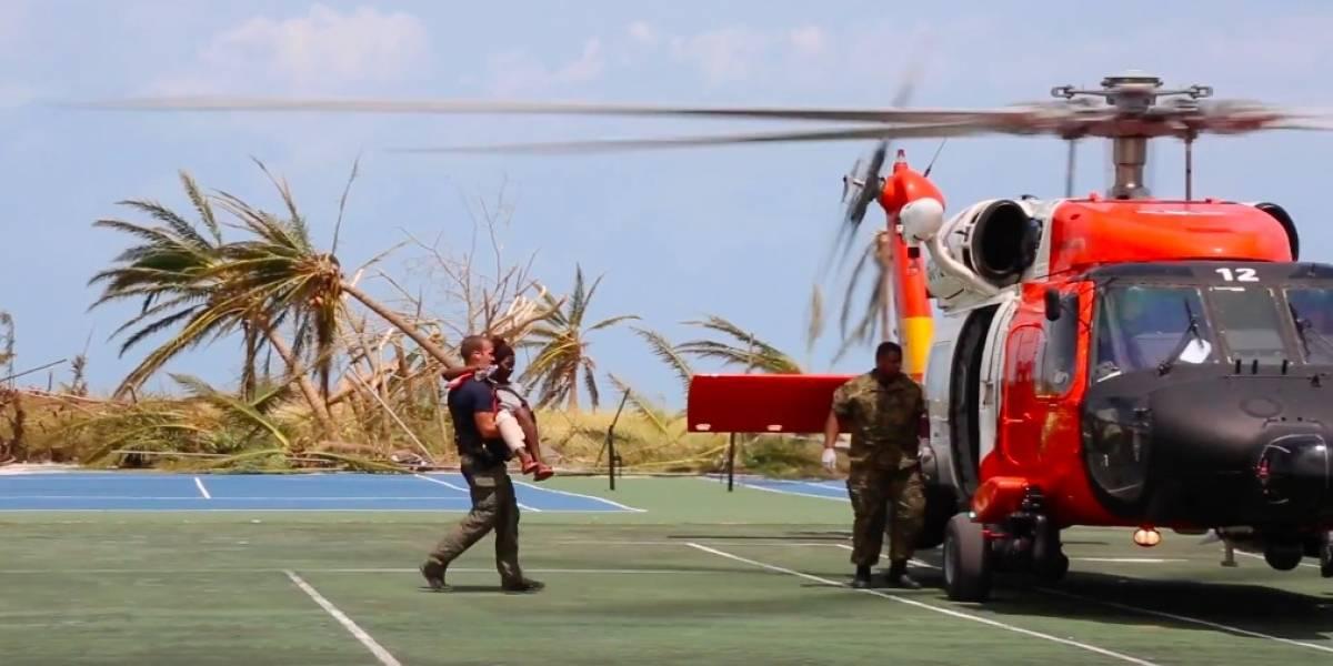 Primeras imágenes de labores de recuperación en Bahamas