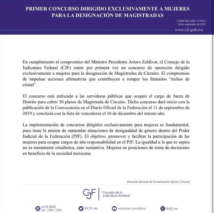 CJF convocatoria