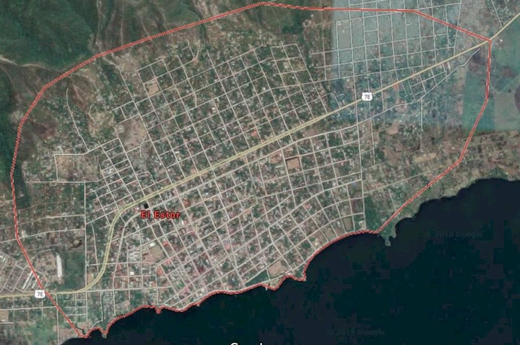 Soldados son emboscados en El Estor, en Izabal. Foto: Google Maps
