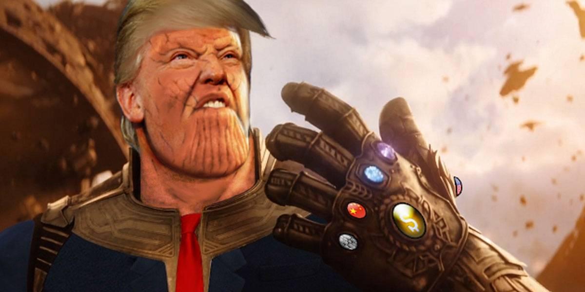 "Ministro Iraní le pide a Donald Trump que ""deje de imitar a Thanos""."