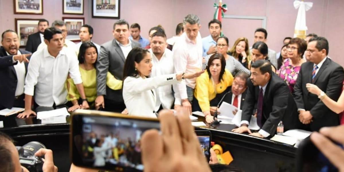 """""""Todos están a mi disposición y servicio"""", dice nueva encargada de la Fiscalía de Veracruz"""