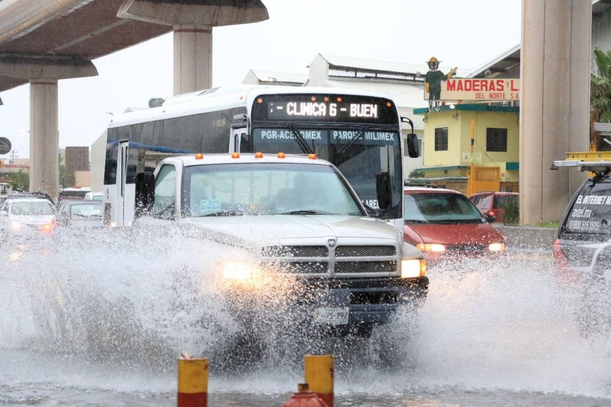 Lluvias Monterrey