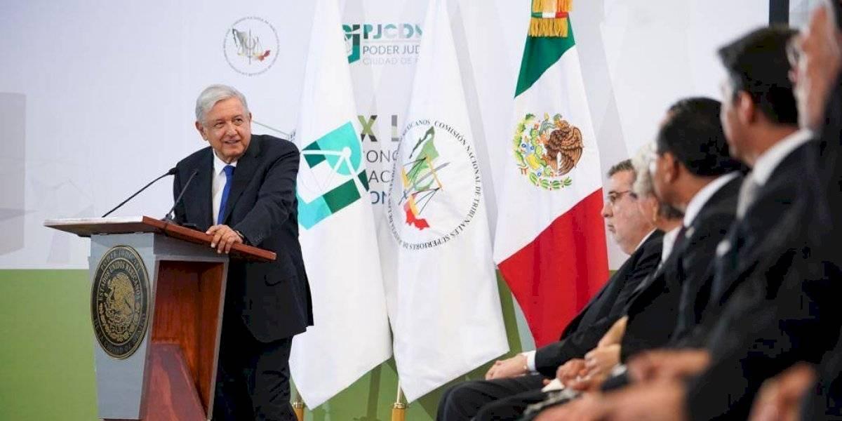 Necesita mejorar imagen de México: AMLO a Tribunales de Justicia